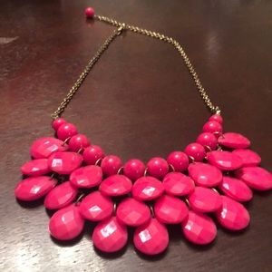 Jewelry - Hot Pink Bold Statement Necklace